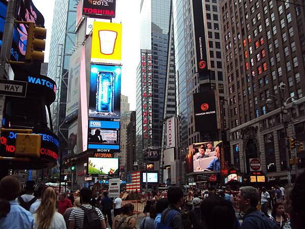 紐約街景看板