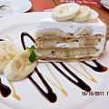 香蕉千層可麗蛋糕