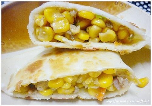 阿久菜盒-玉米火腿盒