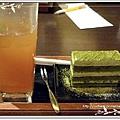 """沿靜 點的是""""冰水果茶+京都抹茶蛋糕"""""""
