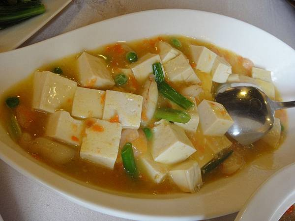 蟹黃海鮮豆腐