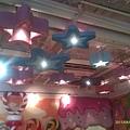 抬頭看到好多星星喔!!