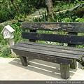 信箱+木板椅