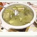 魚湯~看起來嚇人但很好喝耶