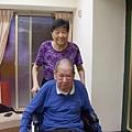 阿姨和姨丈(二人加起來快170歲~呵)