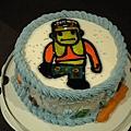 鏘鏘...舞林正傳公仔蛋糕耶!