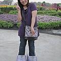 很紫的我(紫衣紫包紫鞋@@)(恒提供)