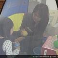 朱小妹邀請阿姨一起進去球屋玩耍!!