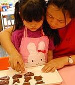 2011-06-11 巧克力壓模餅乾實作