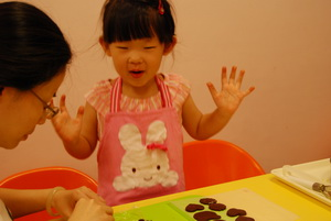 2011-06-26 巧克力壓模餅乾實作
