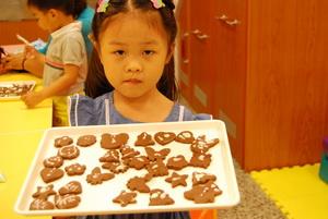 2011-06-28 巧克力壓模餅乾實作