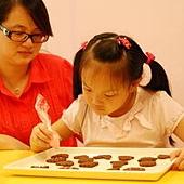 2011-07-10 巧克力壓模餅乾實作