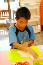 2011-07-22 手工創意披蕯實作