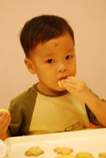 2011-10-08 彩繪奶油餅乾實作