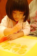 2011-10-09 彩繪奶油餅乾實作