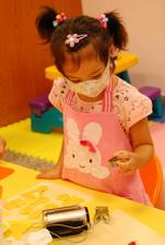 2011-10-19 彩繪奶油餅乾實作