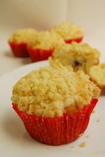 酥皮藍莓瑪芬