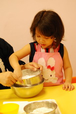 2011-10-21 彩繪油餅乾實作