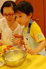 2011-11-04 酥皮藍莓瑪芬實作