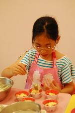 2011-11-06 酥皮藍莓瑪芬實作