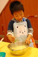 2011-11-09 酥皮藍莓瑪芬實作