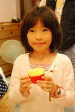 2011-11-20 酥皮藍莓瑪芬實作