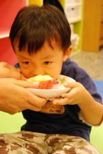 2011-11-28 酥皮藍莓瑪芬實作