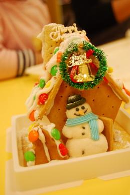 2011-12-20 薑餅屋實作