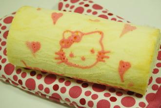 彩繪蛋糕卷