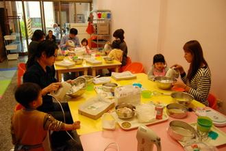2012-01-11 彩繪蛋糕卷實作