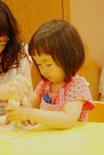 2012-04-15 拖鞋擠花餅乾實作