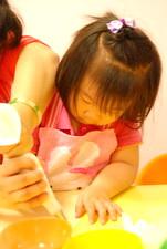 2012-04-17 拖鞋擠花餅乾實作