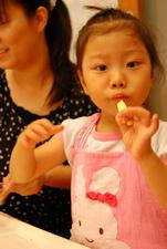 2012-04-21 拖鞋擠花餅乾實作