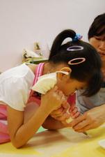 2012-04-25 拖鞋擠花餅乾實作