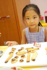 2012-08-08 拖鞋擠花餅乾實作
