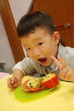2012-11-18 巧克力香蕉馬芬實作