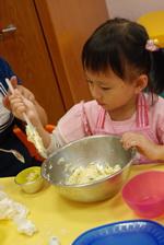 2012-11-25 巧克力香蕉馬芬實作