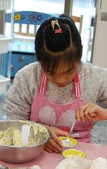 2013-01-22 巧克力香蕉馬芬實作