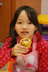 2013-01-30 巧克力香蕉馬芬實作
