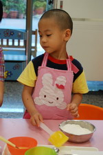 2013-04-20 巧克力豆餅乾實作