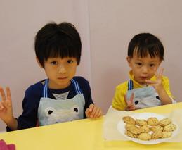 2013-04-14 美式巧克力豆餅乾實作