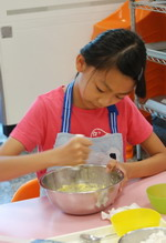 【小學生烘焙】2013-08-06 巧克力豆餅乾