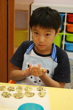 2013-08-12 美式巧克力豆餅乾實作
