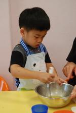 2013-11-13 貝殼馬德蓮蛋糕實作