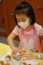 2013-11-15 貝殼馬德蓮蛋糕實作