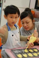 2013-11-17 貝殼馬德蓮蛋糕實作