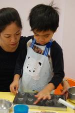 2013-11-20 貝殼馬德蓮蛋糕實作