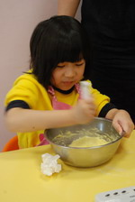 2014-01-05  蔓越莓奶酥馬芬實作