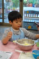 2014-01-12 蔓越莓奶酥馬芬實作