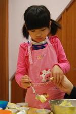 2014-01-21 蔓越莓奶酥馬芬實作